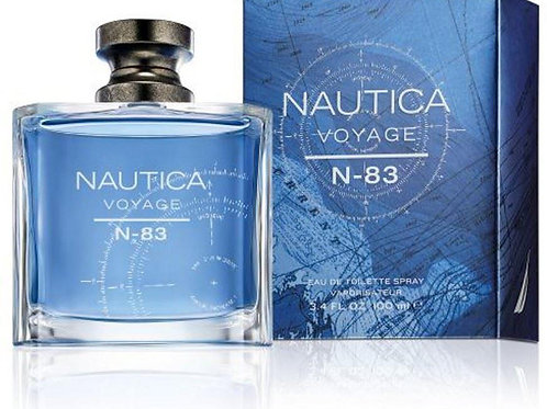 NAUTICA VOYAGE N - 83 for men 3.3 / 3.4 oz edt Cologne