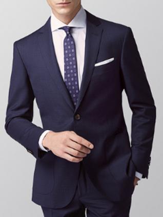 Men Wool Blend Suit for Spring / Summer