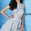 Thumbnail: JOVANI Gold Brocade Short Dress
