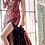 Thumbnail: Fitted Sequin Dress With Illusion Sides and Leg Slit