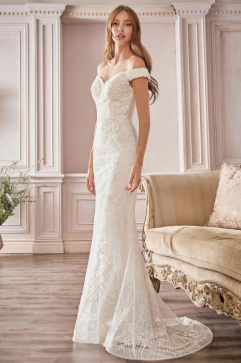 Cinderella Divine Off The Shoulder Bridal Gown