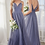 Thumbnail: A-line Tulle Dress Evening / Bridesmaid W/ Pleated Finish