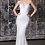 Thumbnail: Fitted Iridescent Sequin Gown with Lace-up Back