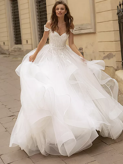 Ball Gown Silhouette Bridal  Gown