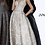 Thumbnail: JVN2228 Champagne Plunging Neckline Evening Gown