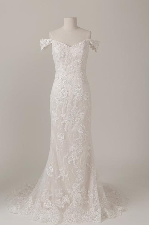 Mignon Manley Design Geraldine OMÉLIE Bridal Gown