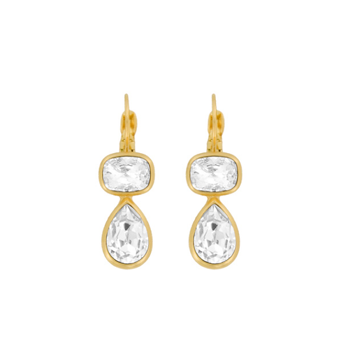Euroback Swarovski Crystals Earrings