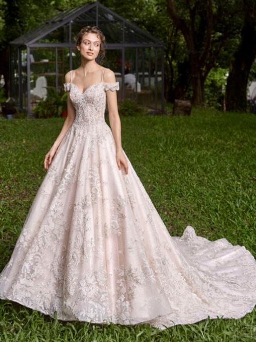 Mignon Manley OJ1779 Eartha Omelie Bridal Gown