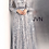 Thumbnail: JOVANI Silver Long Sleeve Embellished Prom Gown JVN62711