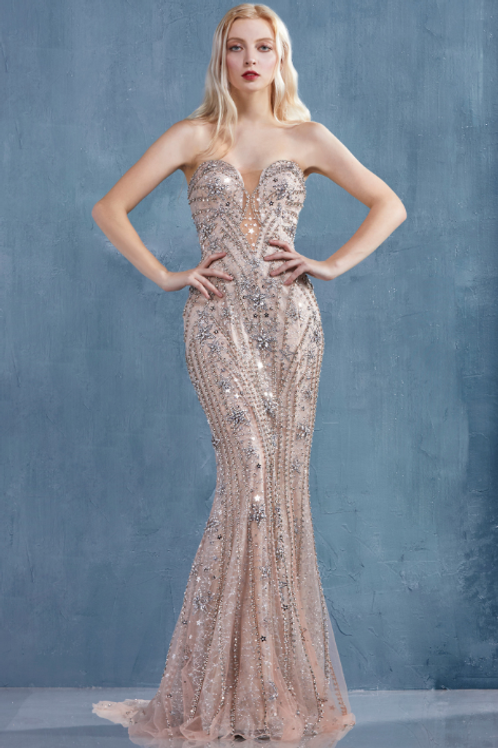 ANDREA & LEO A Star Is Born In This Venus Gown