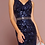 Thumbnail: Mignon Manley Sequined Bodice and Jeweled Belt Gown