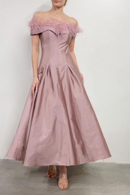 Terani Couture Classic Satin Dress 2021C2626