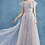 Thumbnail: ANDREA & LEO Gwen Ruffle Cap Sleeve Lace Tulle Gown