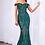 Thumbnail: CINDERELLA DIVINE Off Shoulder Gown W Geometric Sequin Detail Dress
