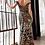 Thumbnail: Off Shoulder Sequined A-Line Dress