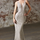 Thumbnail: Cinderella Divine Fitted Gown With Embellished Geometric Details