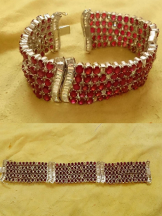 Excellent Quality Hand crafted Ruby Bracelet
