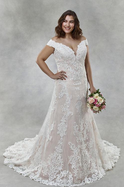 Mignon Manley OV2017 DELANEY OMÉLIE CURVY Bridal Gown