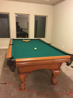 Pool Table moving League City