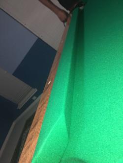 Pool table refelting Cypress