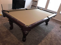 pool table assembly houston