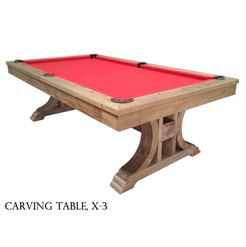 cheap-indoor-9ft-solid-wood-and-slate.jp