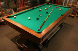 Pool table installation