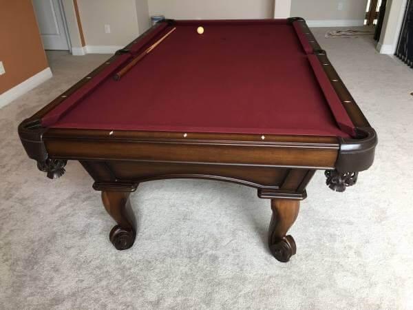 pool table service houston