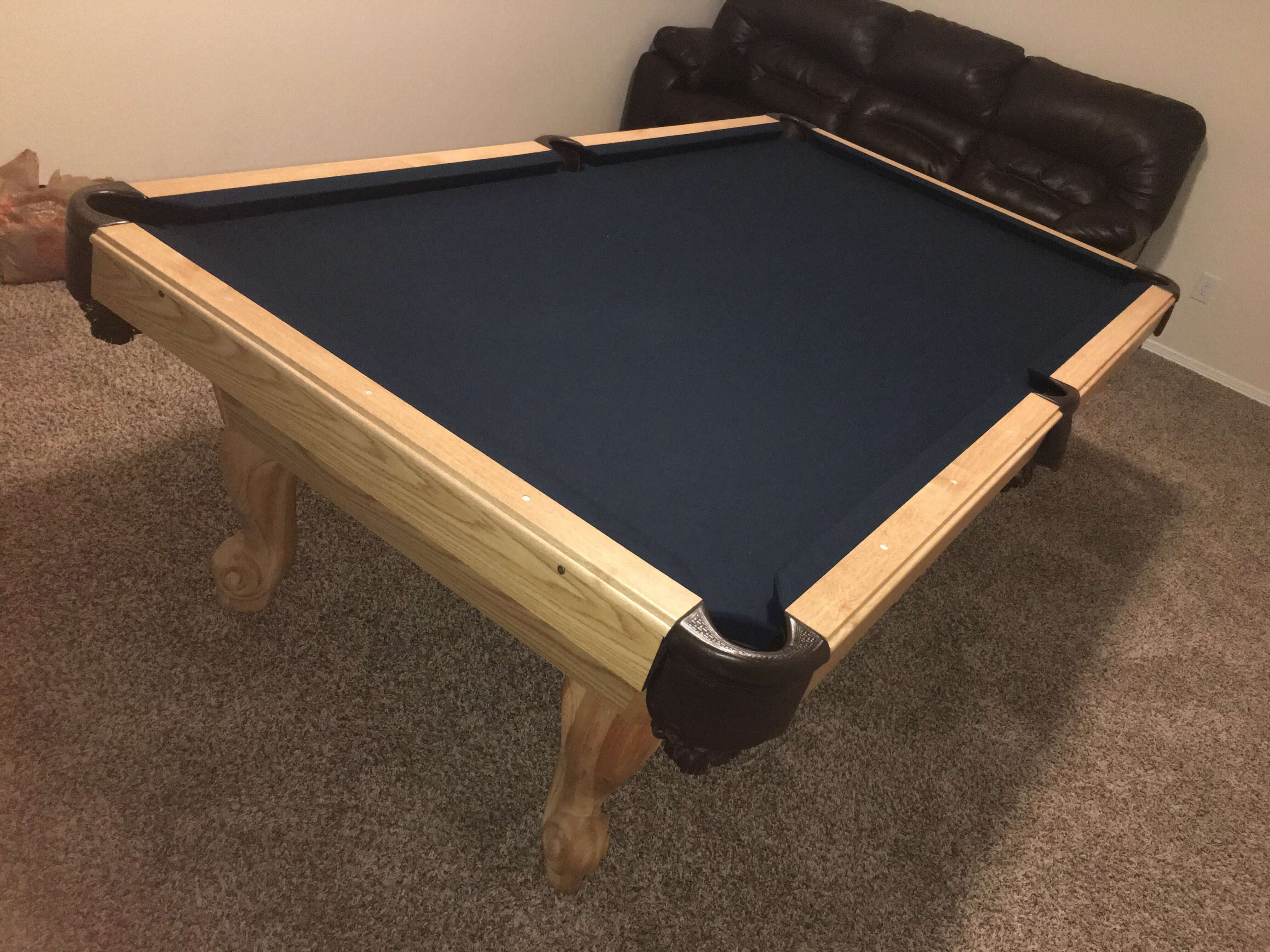Pool table refelting Baytown