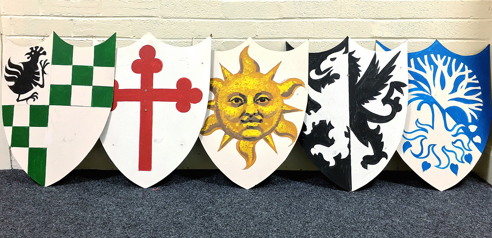 Spamalot shields