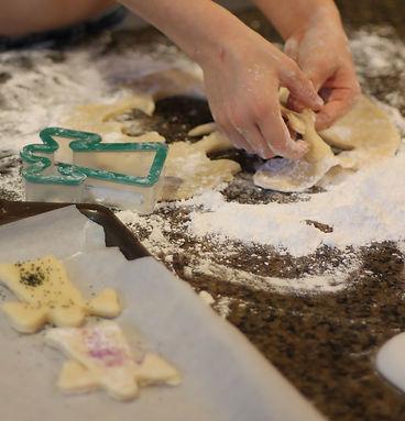 Preschool cookies.