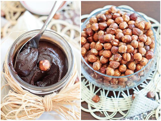 Homemade Nutella spread