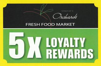Orchards Fresh Food Market POS Signage