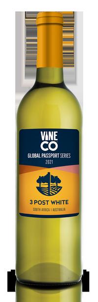 Vine Co Global Passport Series 2021 - 3 Post White