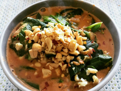 Wicked Peanut Soup in 30 Minutes