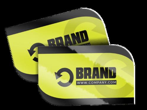 Leaf Cut Business Cards