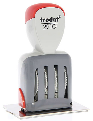 Trodat Printy 2910-P10 Non-Inking Dater Stamp