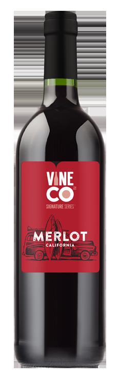 Vine Co Merlot, California W/ Grape Skins