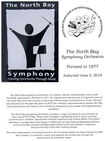 North Bay Hall of Recognition