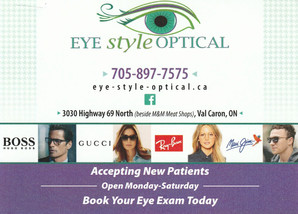 Eye Style Optical Direct Mail Campaign Back