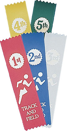 English Track & Field Ribbons