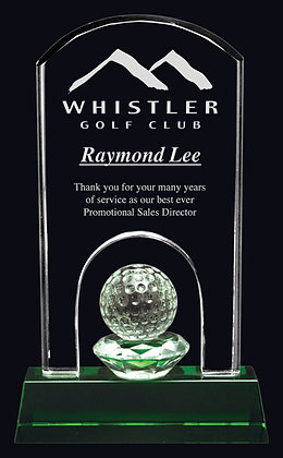 Emerald Hills Crystal Award