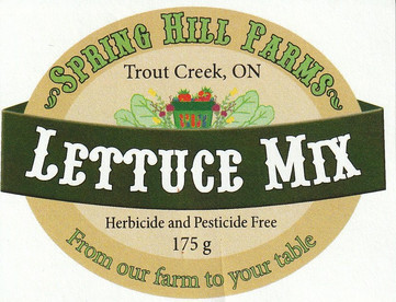 Spring Hill Farms Labels