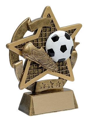 Star Gazer Soccer Trophy