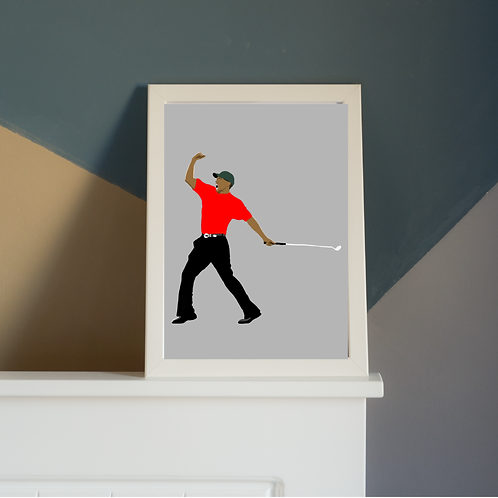 Tiger Woods Print