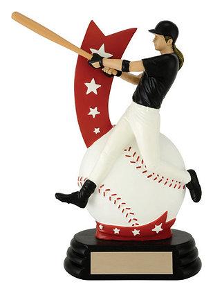 All-Star Baseball Player Trophy