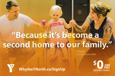 Why The Y North Direct Mail Campaign Front