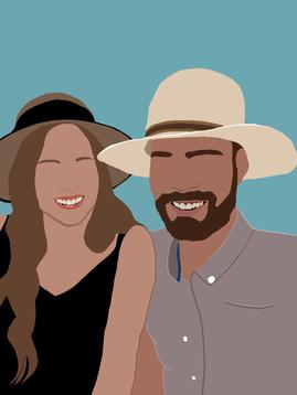Sunhat Couple