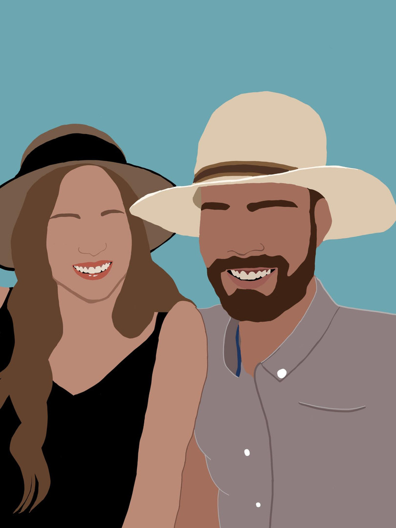 Sunhat Couple