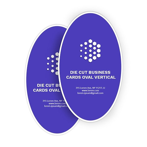 Wholesale Oval Business Cards